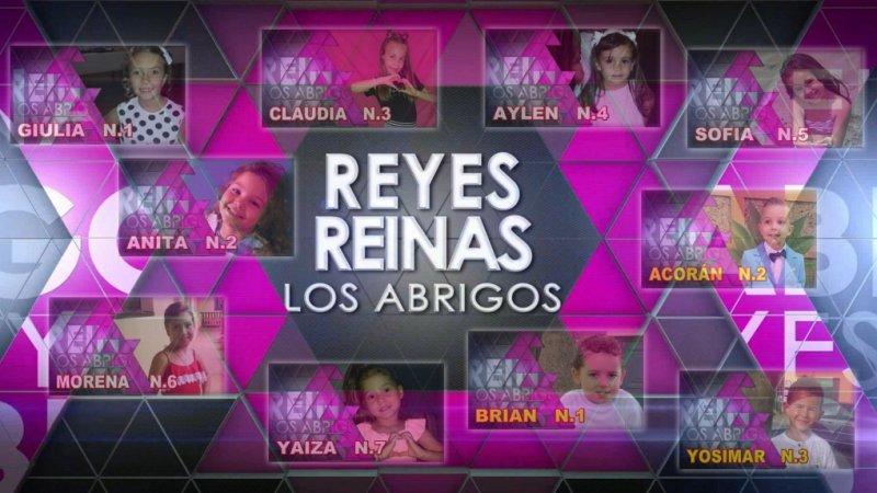 Reyes y Reinas infantiles de Los Abrigos