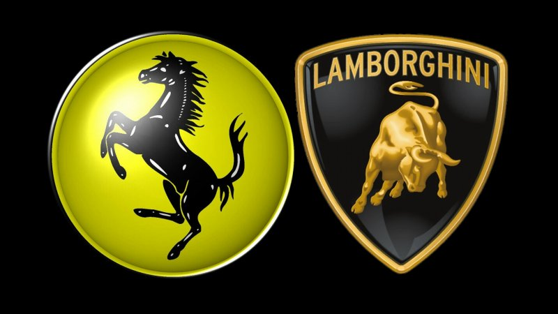 Salida Ferrari y Lamborghini en Tenerife