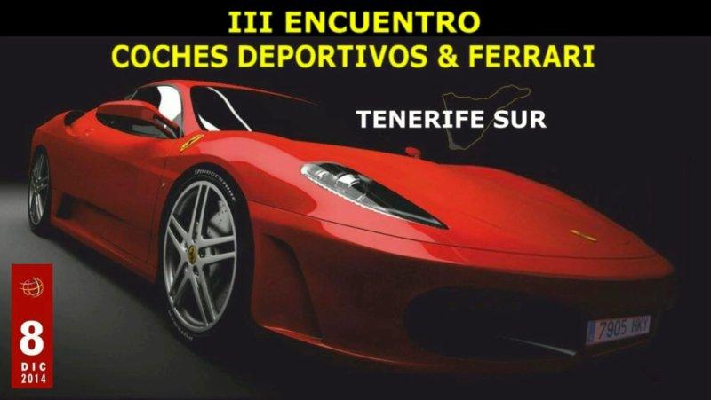 Coches deportivos y Ferrari tercero encuentro