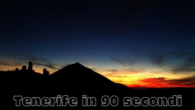 Tenerife en 90 segundos