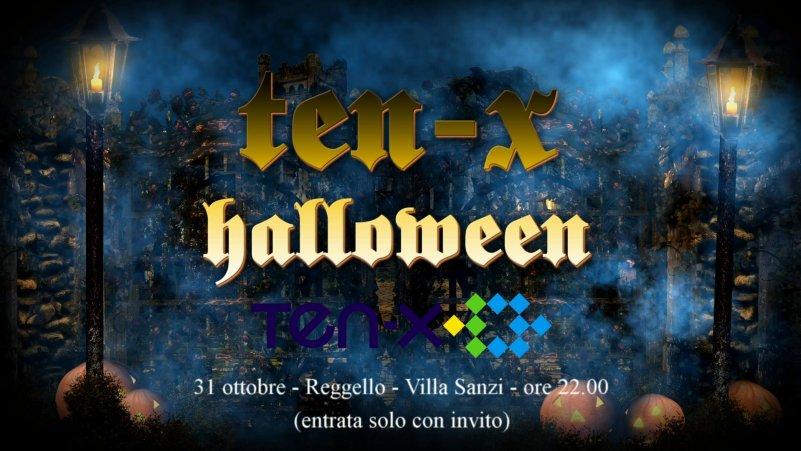 TEN-X Halloween Promo