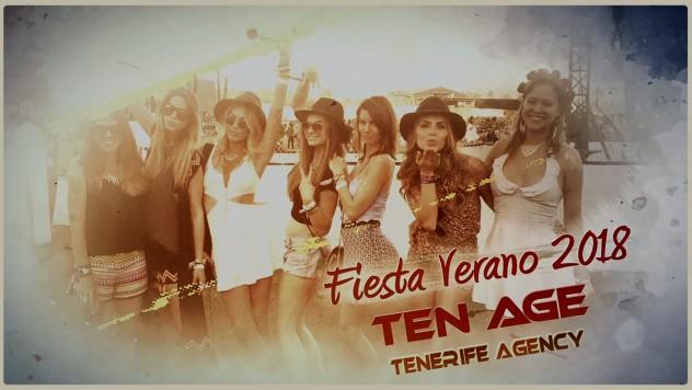 Fiesta verano 2018 TenAge