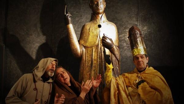Insolita visita al museo medievale